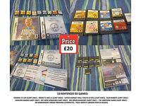 10 Nintendo DS games bundle including Super Monkey Ball, The Simpsons, My Sims & Cooking Mama