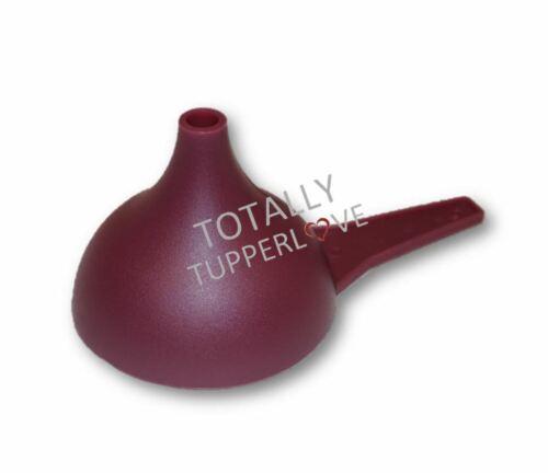 Tupperware Funnel Kitchen Tool Large Hershey Kiss Mold Semi-Translucent Purple