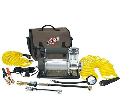 AirLift Viair # 25230 Portable Air Compressor RV 4x4 Air Ride Train Horn J15910