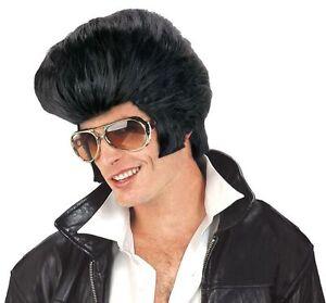 Elvis Presley Deluxe Wig 50s 60s Rock & Roll Star Las Vegas Costume Party
