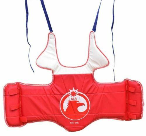 Taekwondo Boxing  Chest Protector Karate MMA Guard TKD REVERSIBLE Sparring Gear