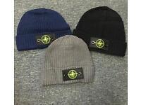 Stone Island hats.