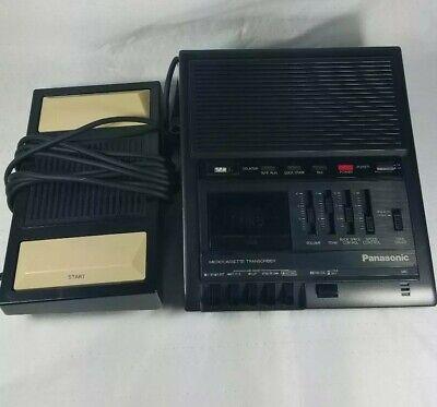 Panasonic Rr-930 Microcassette Transcriber W Foot Pedal Rp-2692