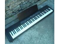 Yamaha p-80 weighted 88 keys keyboard