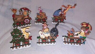 Disney Winnie The Pooh Express Christmas Train Set by The Danbury Mint