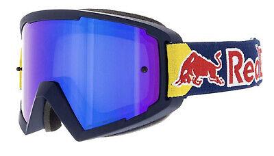 Spect Red Bull MX Brille Cross Enduro Quad ATV blau violett verspiegelt