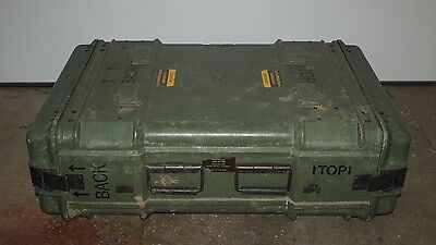 Military Shipping Storage Container Case Impact Resistant Waterproof 41x23x9