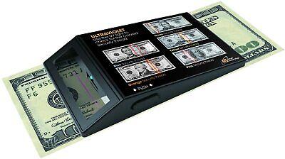 Detector De Billetes Falsos Porttil Uv Verificar Dinero Con Gua Referencia