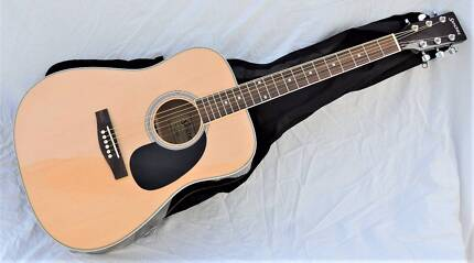 Sanchez SD-17-NGL Full Size Steel String Natural Gloss