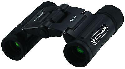 Celestron UPCLOSE G2 8 x 21 Compact Binoculars Black #71230 (UK Stock)