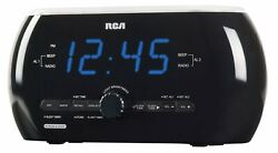 Rca RC220 Soft Light Alarm Clock Radio With Dual Wake- **FREE 2 DAY SHIPPING***