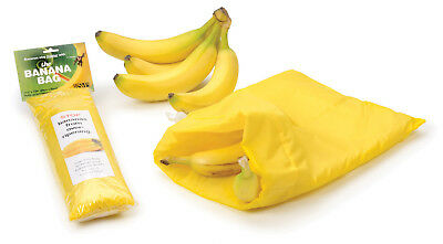 RSVP International The Banana Bag 11 ½ x 13 ¾ Inches - Holds 8 Bananas