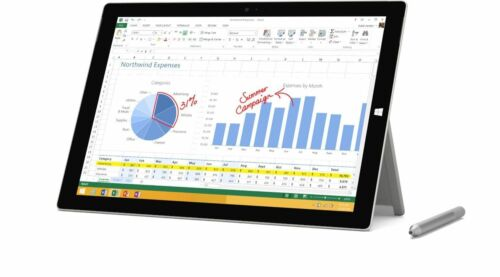 Microsoft Surface Pro 4 128GB SU3-00001 Wi-Fi 12.3in Silver Intel Core