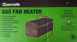 Gas Fan Heater by Gasmate - New Terrigal Gosford Area Preview