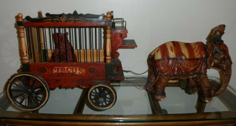 """Vintage """"BARNUM & BAILEY CIRCUS WAGON""""collectable from """"1920"""