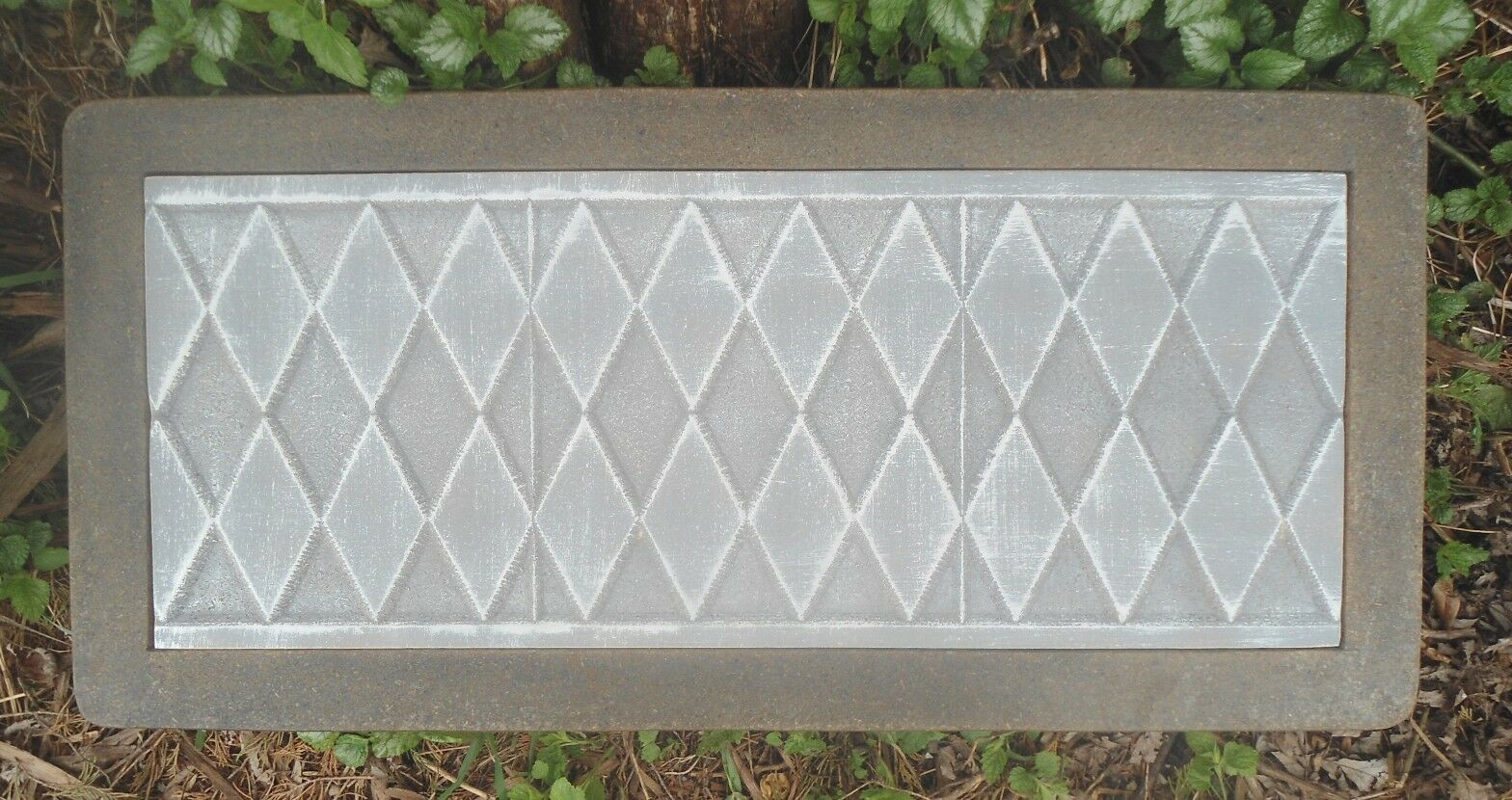 Diamond Bench Top Mold 3/16 ths Abs Plastic Concrete Mould  - $79.95