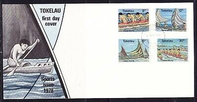 Tokelau 1978 Sports Canoe Racing First Day Cover