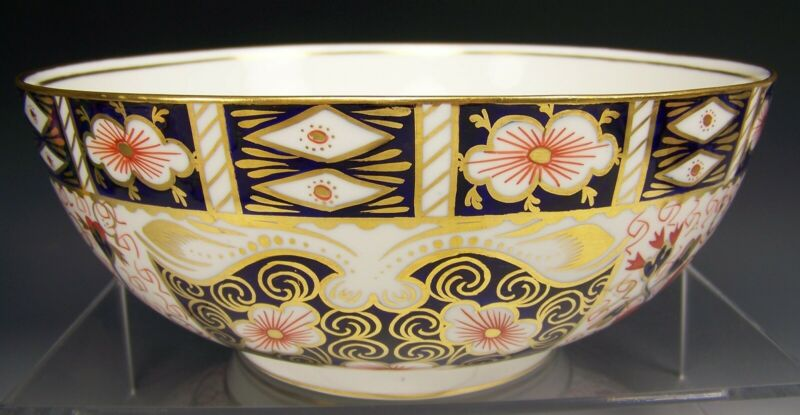 "ROYAL CROWN DERBY IMARI FOR TIFFANY & CO ~ 11"" SERVING BOWL # 2451"