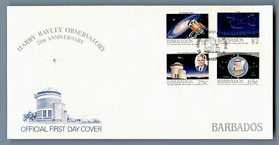 DR WHO 1988 BARBADOS FDC HARRY BAYLEY OBSERVATORY 25TH ANNIV  C240538