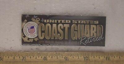 United States Coast Guard Retired Magnet