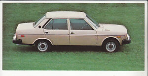 1977 FIAT 131 4-DOOR SEDAN Italian Car Ad POSTCARD NOS New Old Stock Vintage