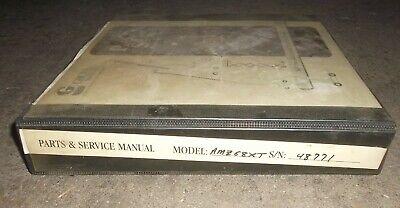 Grove Manlift Amz68xt Telescopic Aerial Platform Boom Service Repair Manual