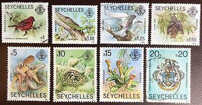 Seychelles 1980 Redrawn Wildlife Definitives Set MNH & FU