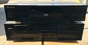 Pioneer DVD player and Kenwood Dual Cassette Strathcona County Edmonton Area image 1