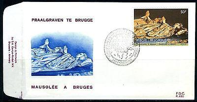 (B) 2020 FDC 1981 - Praalgraven van Maria van Bourgondië & Karel de Stoute