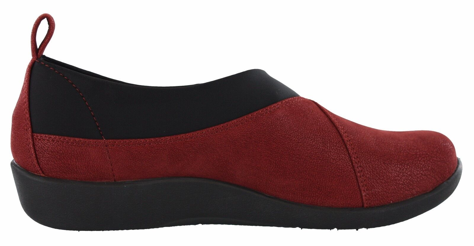 WOMENS CLARKS CLOUDSTEPPERS SILLIAN GREER MEDIUM AND WIDE WIDTH LOAFERS 1