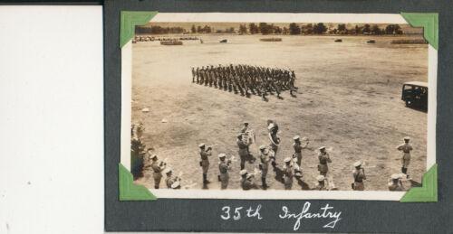 1935 US Army Schofield Barracks Review Hawaii 35th Infantry