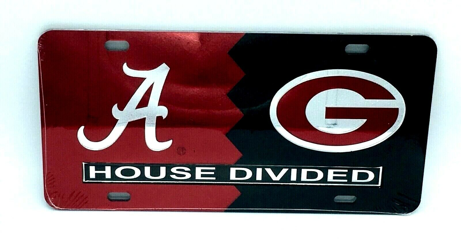 Made and shipped in the USA Alabama Crimson Tide Roll Tide Laser Cut License Plate Auto Tag