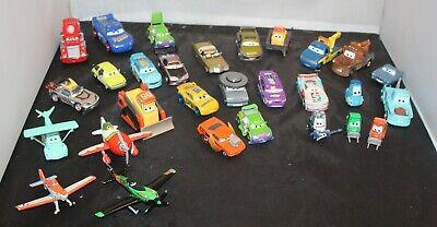 Disney Pixar Cars LOT 29pcs Diecast Plastic