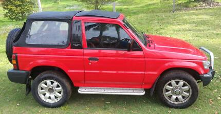 Low K Imported Pajero Soft-top Shortie 4WD $6000neg ... offers! Bli Bli Maroochydore Area Preview
