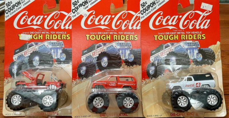 Hartoy Coca Cola Tough Riders Die-cast Metal Toys Vehicles