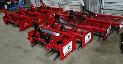 4 5 6 7 8 Box Blade New 48 72 60 72 84 Inch Blades Gannon Driveway Foot