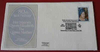 GB 80th Birthday Her Majesty Queen Elizabeth The Queen Mother 1980  FDC