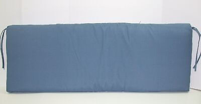 Better Homes & Gardens Outdoor Bench Cushion ~ Singing the Blues ~ 17 x 46 x 3