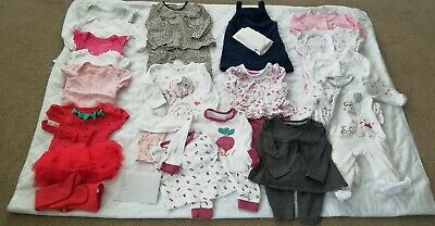 3-6 Months Old Baby Girl Clothes Bundle