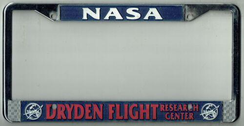 NASA Worker Dryden Flight Research Center Vintage California License Plate Frame