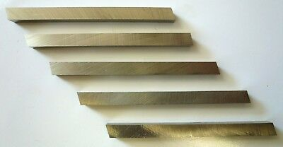 5 Pc Hss Mini Metal Lathe Cutter Bits M2 Tool Steel 14 X 14 X 2-12 New