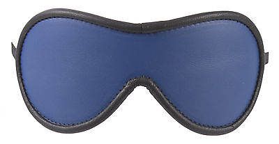 """Blindfold Shades of Blue Genuine Leather """"NEW"""""""