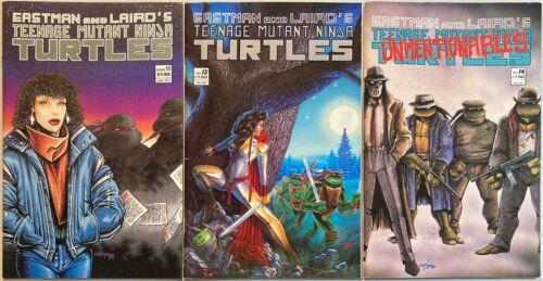Teenage Mutant Ninja Turtles #11, 13, 14. Mirage 1988.