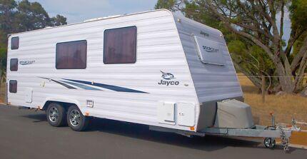 Jayco Starcraft caravan with triple bunk and ensuite Vasse Busselton Area Preview