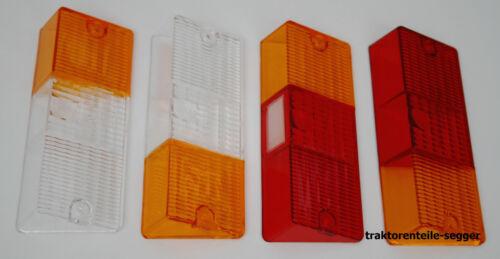 Satz Gläser Lampengläser 4 Stück für Deutz 06 Rückleuchten + Positionsleuchten  Foto 1