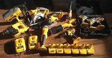 20 pcs. DeWalt 18V XRP Combo great condition 7batteries+2charger Murrumbeena Glen Eira Area Preview
