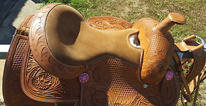 WesternLeather Saddle for sale Caboolture Caboolture Area Preview