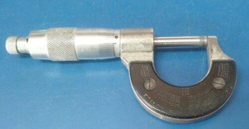"Vintage Swiss Made Etalon Alina 0-1"" Micrometer"