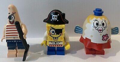 Lego Spongebob Minifigure Set Mrs Puff Patrick Spongebob