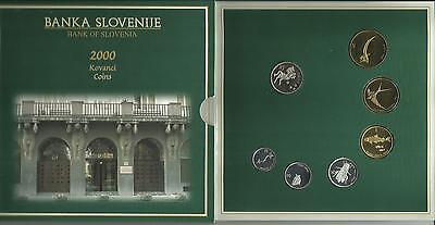 KMS Slovenien/ Slovenije 2000 Polierte Platte -